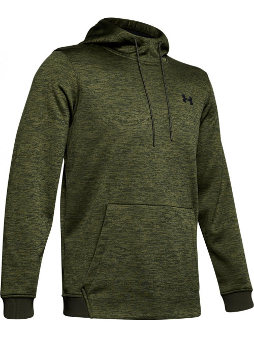 Pánska mikina Under Armour Fleece Twist Hoody zele...