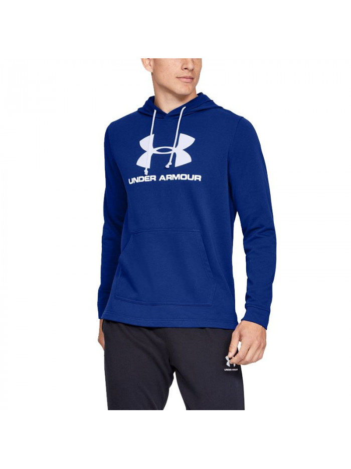 Pánska mikina Under Armour Hoodie Terry Logo modrá