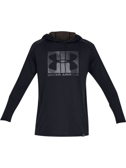 Pánska mikina Under Armour Lighter Longer Hoodie čierna