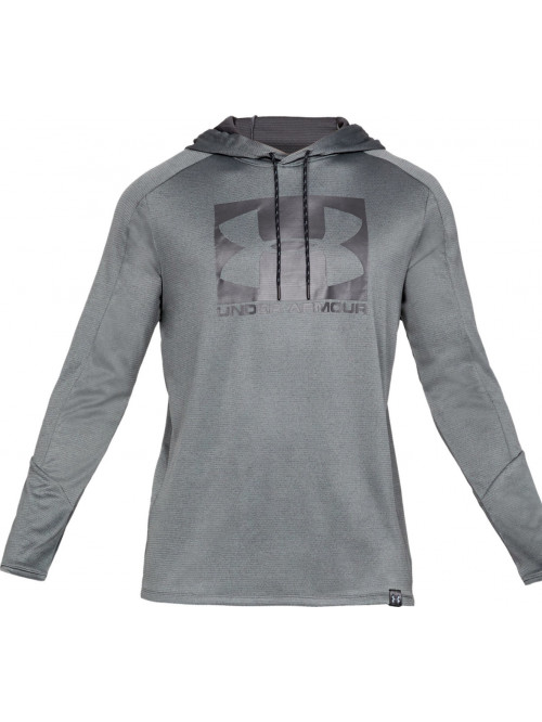 Pánska mikina Under Armour Lighter Longer Hoodie sivá