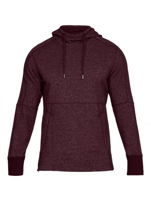 Pánska mikina Under Armour Sportstyle Speckle Terry Hoodie bordová