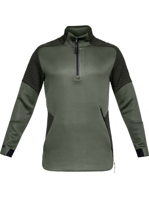 Pánska mikina Under Armour Unstoppable Move 1/2 Zip zelená