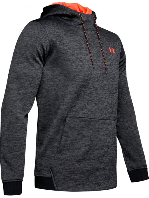 Pánska mikina Under Armour Fleece Twist Hoody tmavosivá
