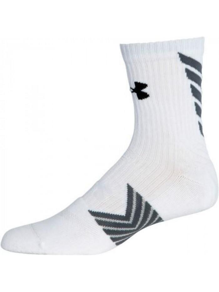 Pánske ponožky Under Armour Undeniable vysoké biele
