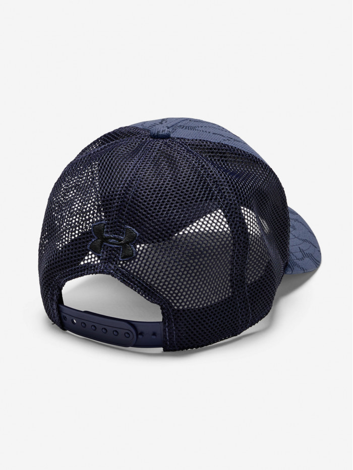 Šiltovka Under Armour Blitzing Trucker 3.0 modrosivá