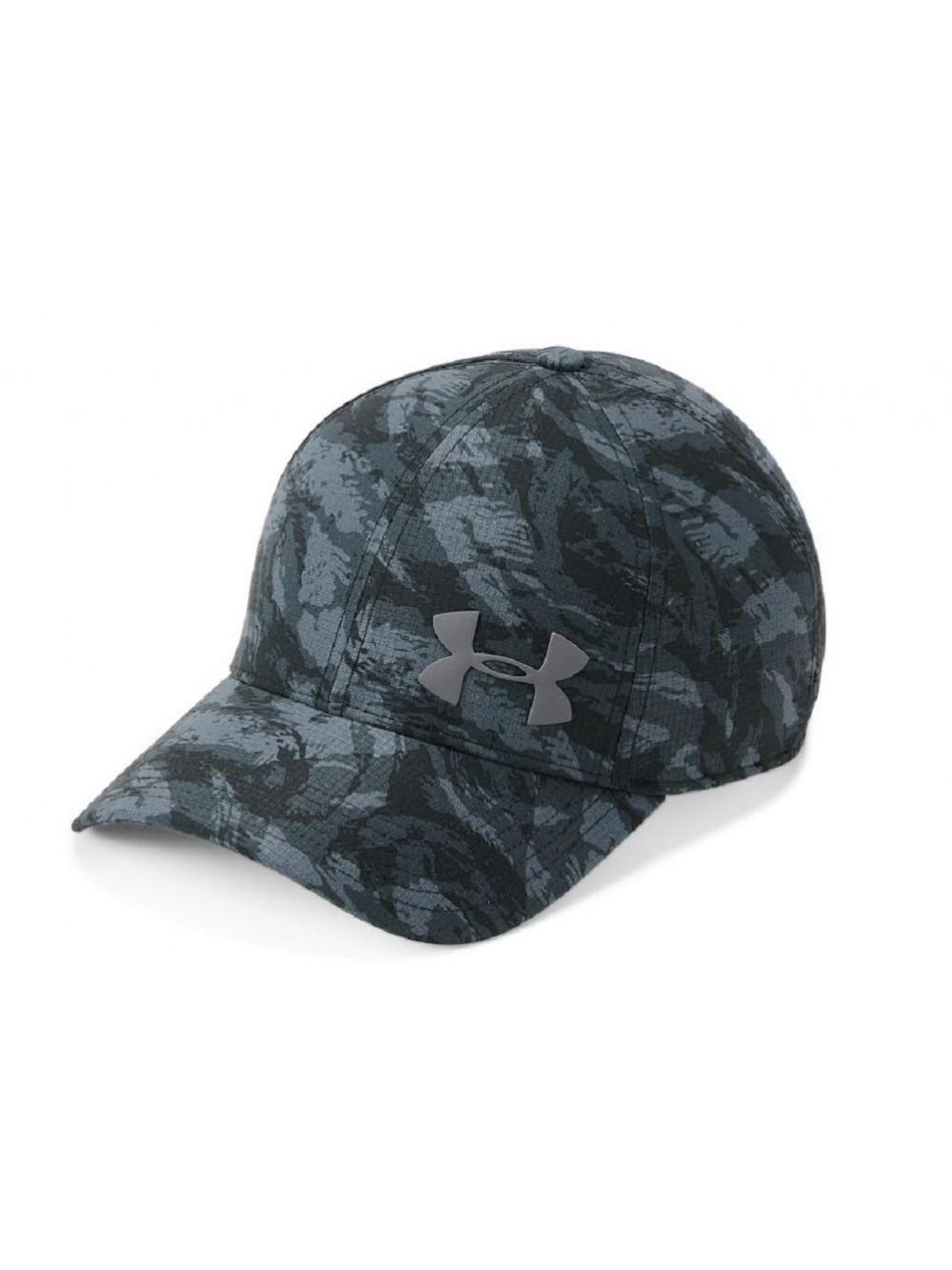 Šiltovka Under Armour Airvent Core maskáčová čierna