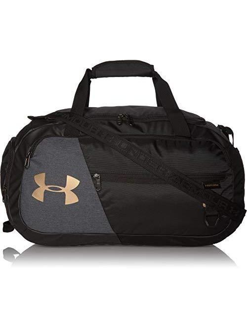 Športová taška Under Armour Undeniable Duffel 4.0 SM čierno-sivá