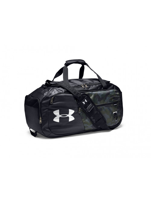 Športová taška Under Armour Undeniable Duffel 4.0 MD tmavohnedá
