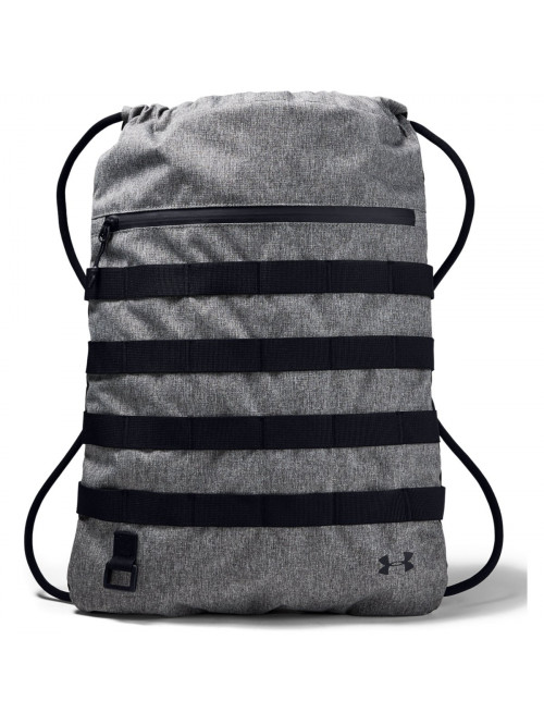 Športový vak Under Armour Sportstyle Sackpack sivý