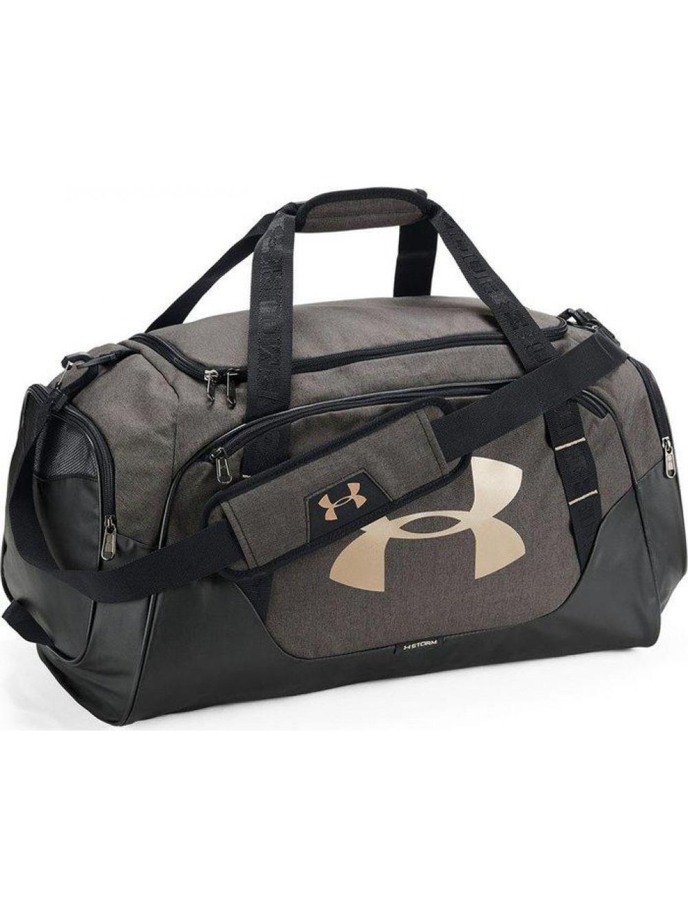 Športová taška Under Armour Undeniable Duffel sivá