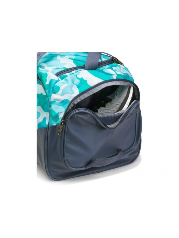 Športová taška Under Armour Undeniable Duffel sivo-zelená