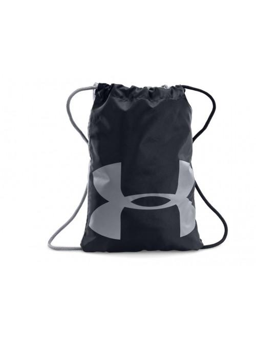Športový ruksak Under Armour Ozsee Sackpack čierny/sivý