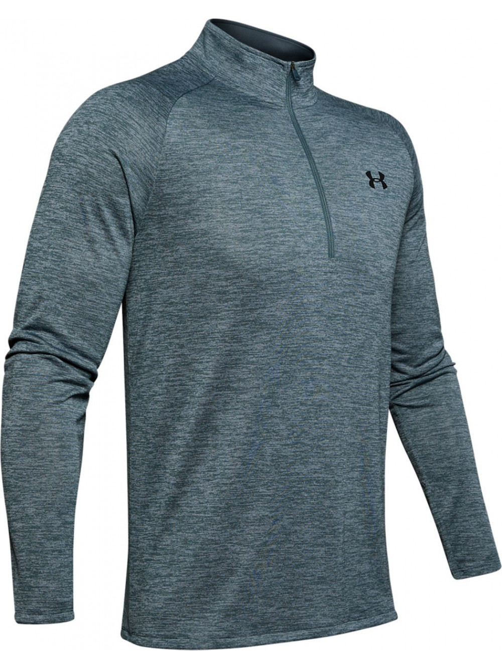 Pánske tričko Under Armour Tech 2.0 1/2 Zip Wire Sivé