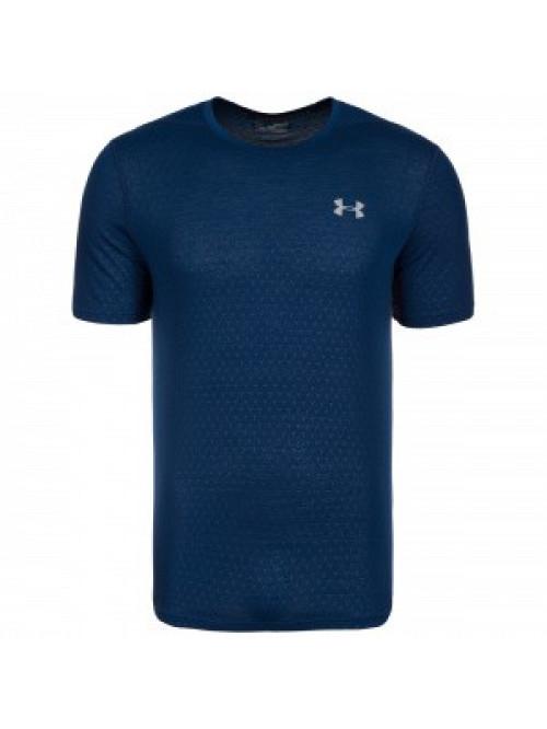 Pánske tričko Under Armour Threadborne tmavomodré