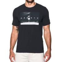Pánske tričko Under Armour Ali Rumble Photo čierne