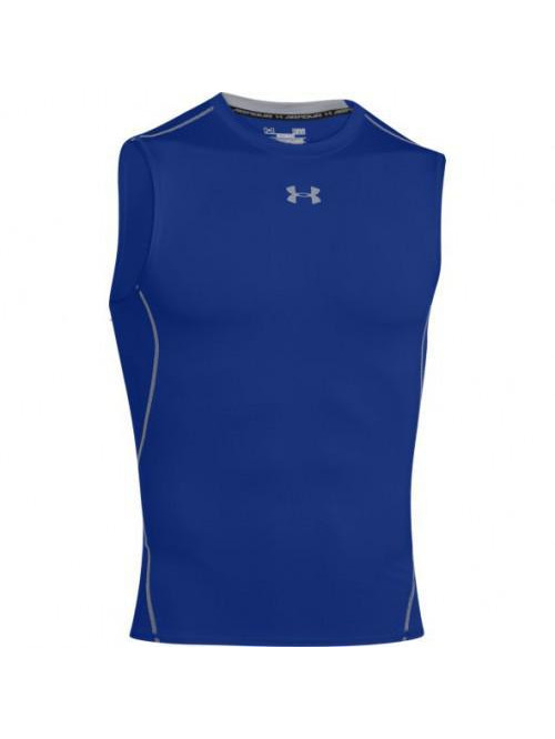 Pánske kompresné tielko Under Armour HeatGear Sleeveless modré