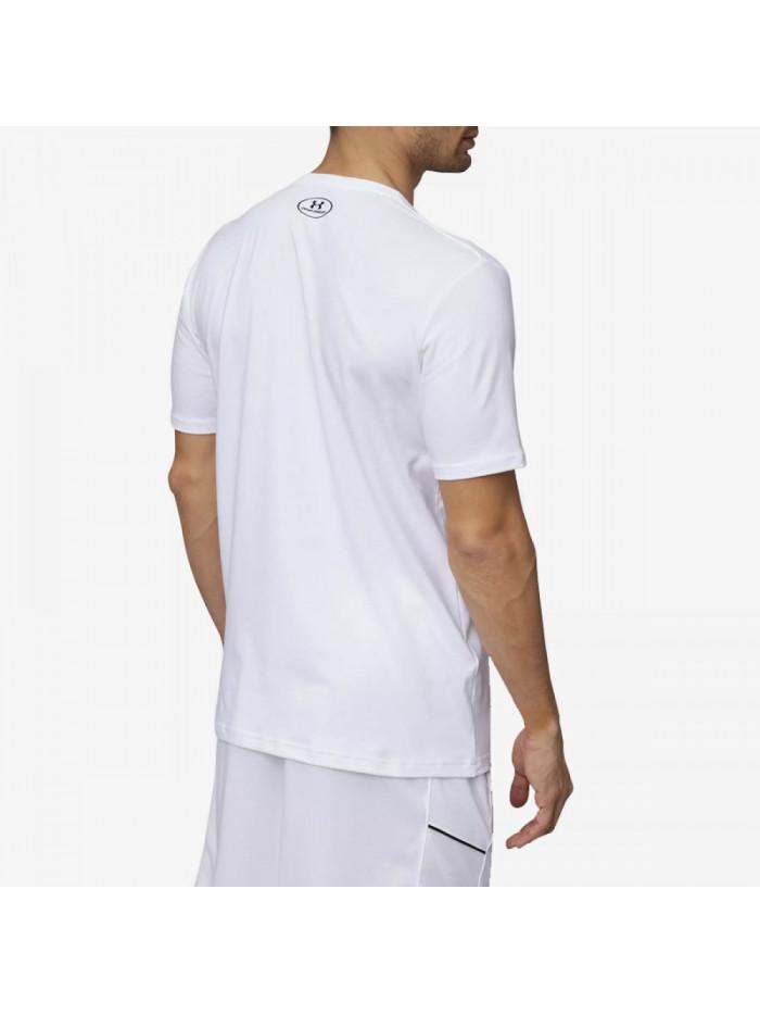 Pánske tričko Under Armour BBall Hard Work biele