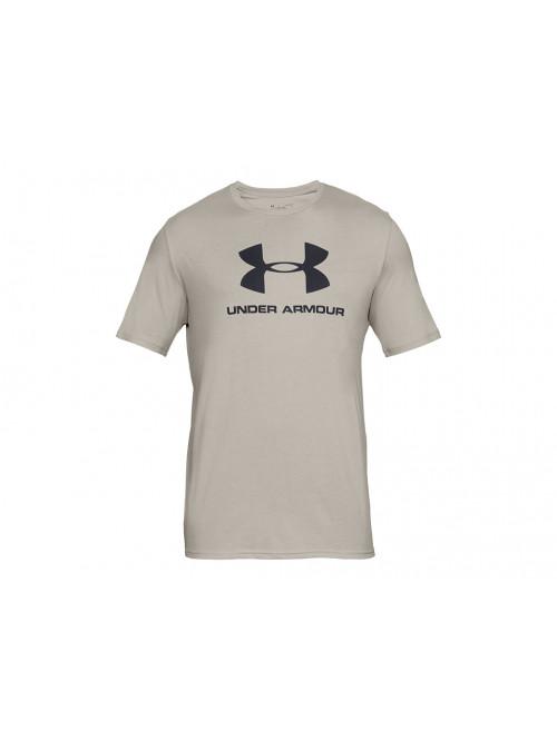 Tričko Under Armour Sportstyle Logo béžové