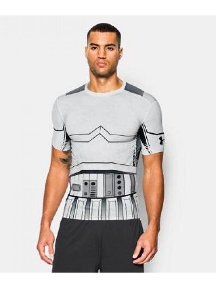 Kompresné tričko Under Armour Trooper biele