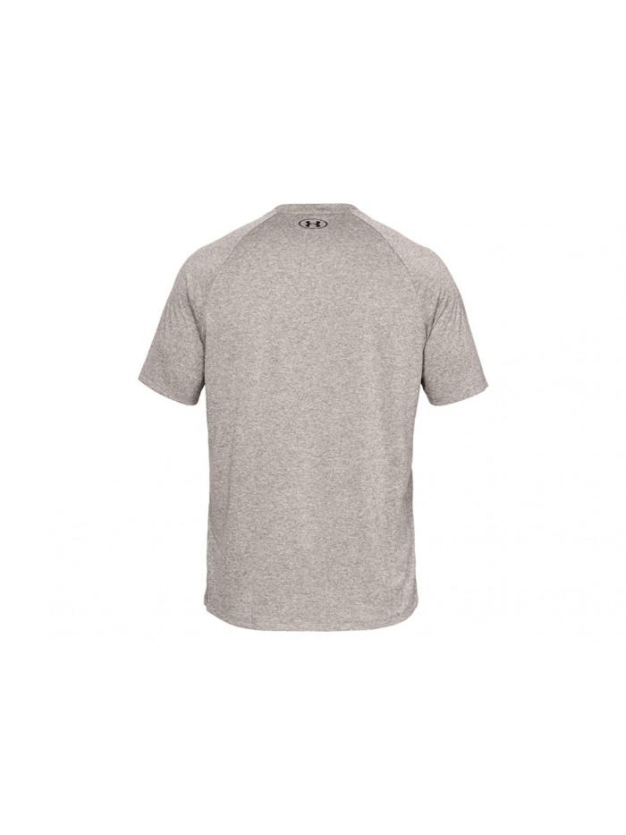 Pánske tričko Under Armour TECH 2.0 SS TEE hnedosivé