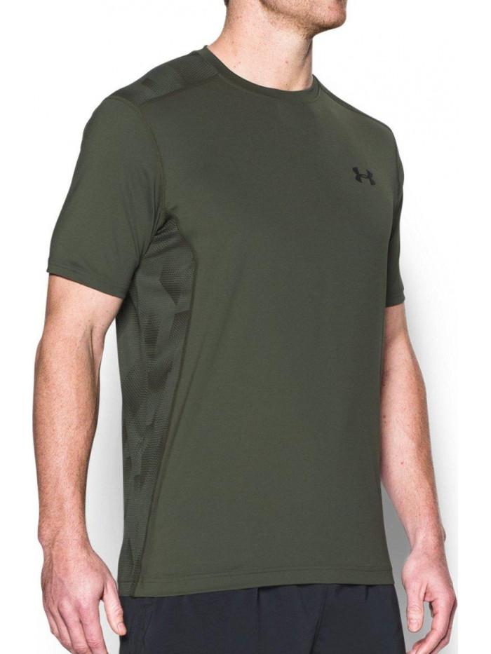 Tričko Under Armour Raid Tactical army zelené