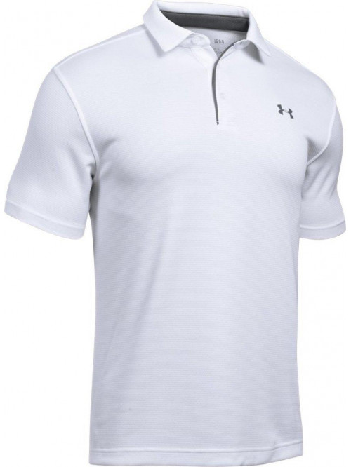 Tričko Under Armour Tech Polo biele