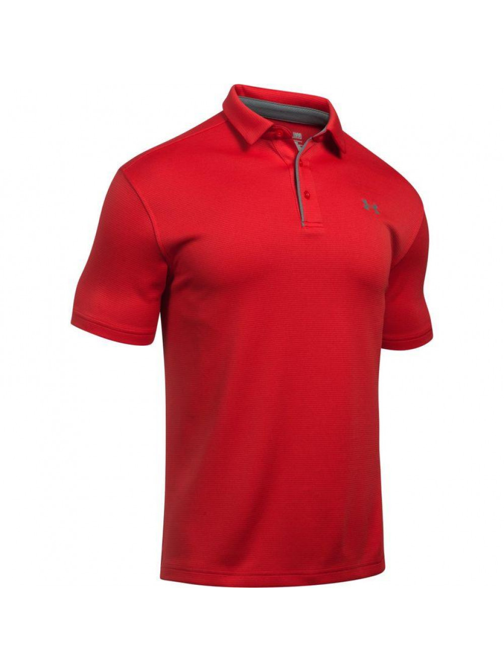 Tričko Under Armour Tech Polo červené