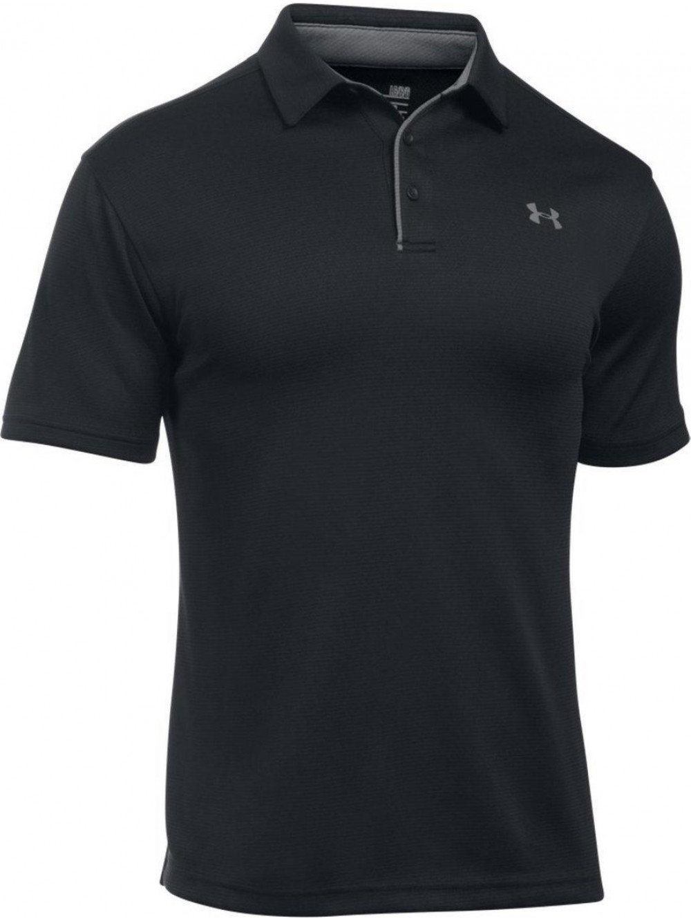 Tričko Under Armour Tech Polo čierne