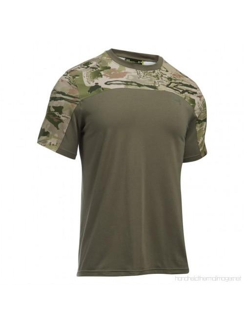 Tričko Under Armour Tactical Combat army zelená