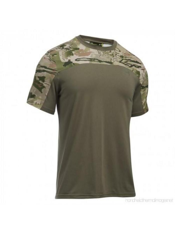 Tričko Under Armour Tactical Combat army zelená