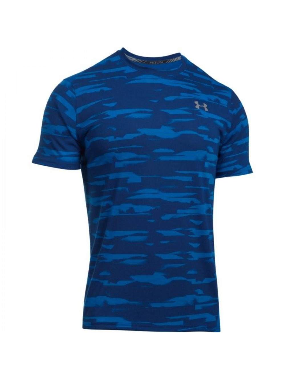 Tričko Under Armour Threadborne Run Mesh modré