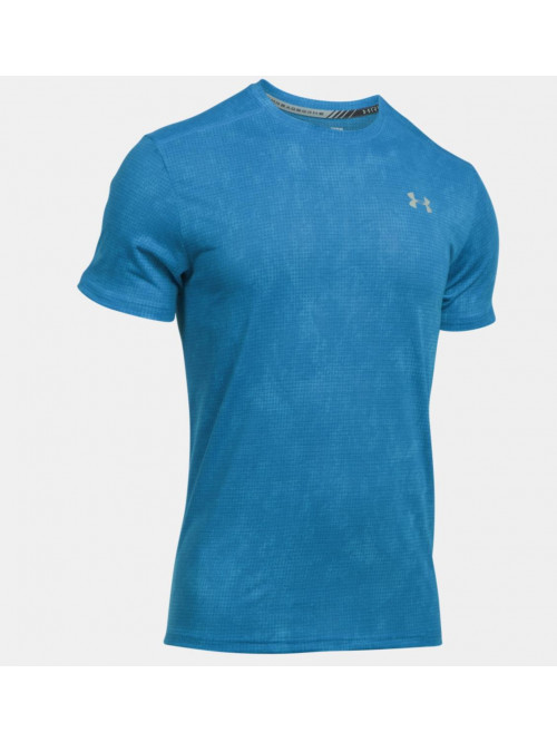 Tričko Under Armour Threadborne Run modré