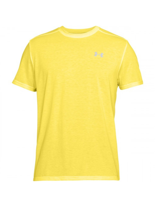 Tričko Under Armour Threadborne Run žlté