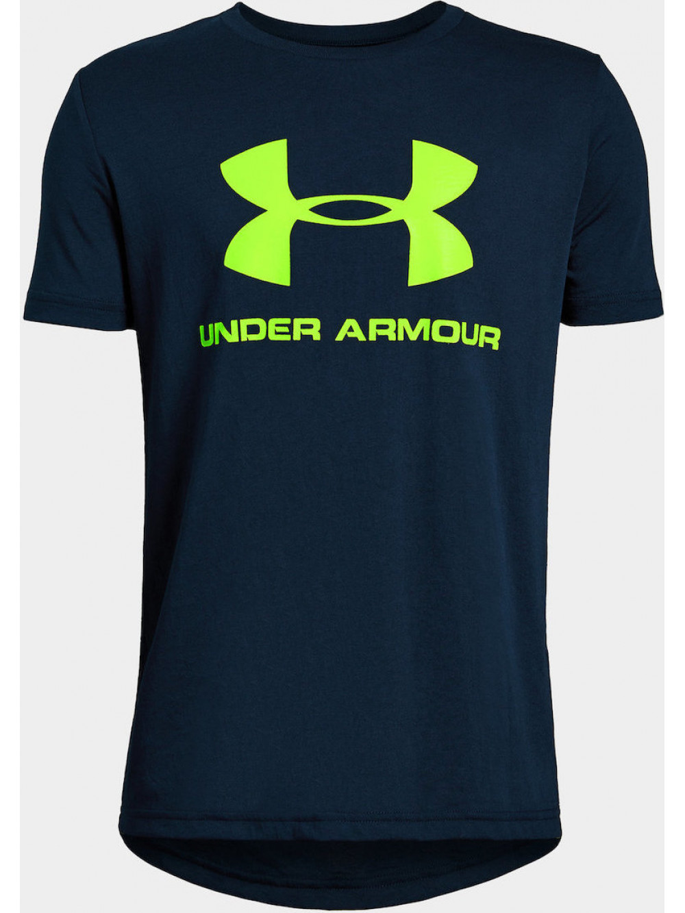Chlapčenské tričko Under Armour Sportstyle Logo modré