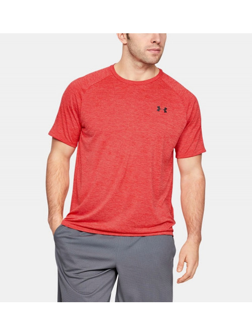 Tričko Under Armour TECH SS TEE červené