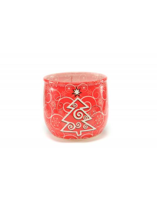 Vianočná voňavá sviečka Merry Christmas Red