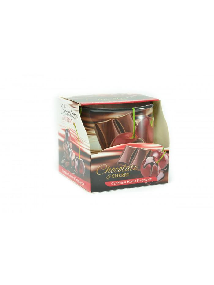 Voňavá sviečka Chocolate & Cherry
