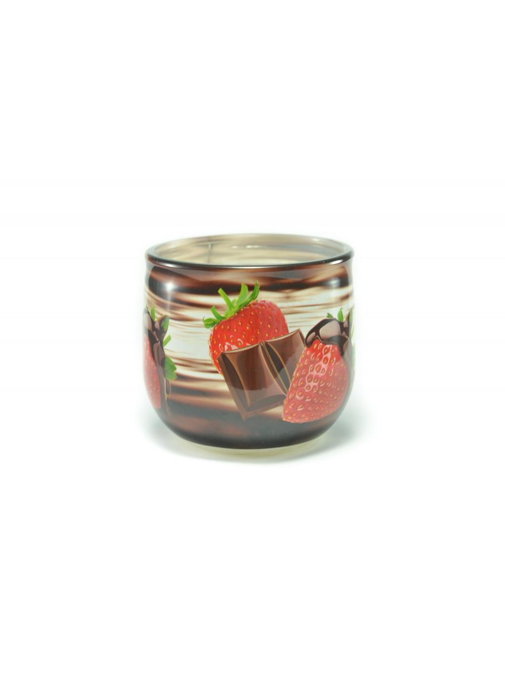 Voňavá sviečka Chocolate & Strawberry