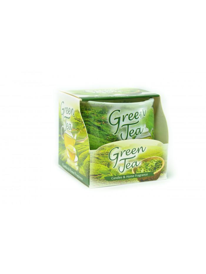 Voňavá meditačná sviečka Green tea
