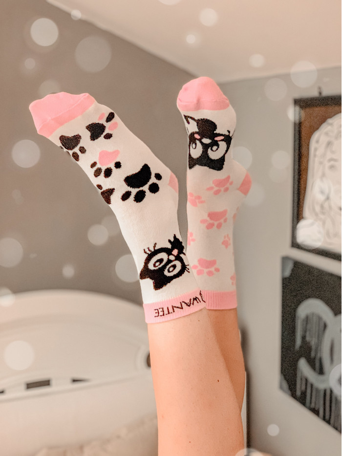 Ponožky Roztomilé Mačičky Wantee