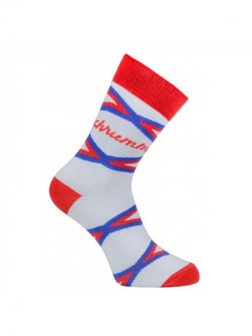 Ponožky Chrumky FunnySOX červené