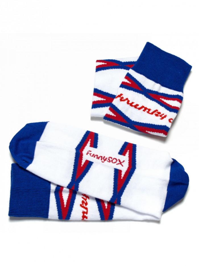Ponožky Chrumky FunnySOX modré