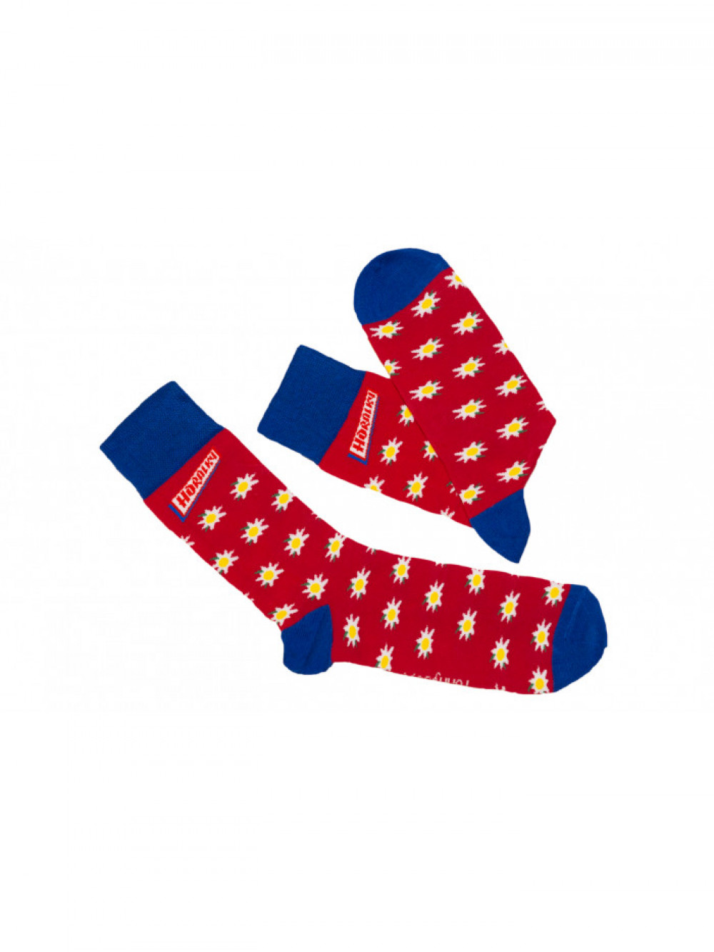 Ponožky Horalky Funnysox červené