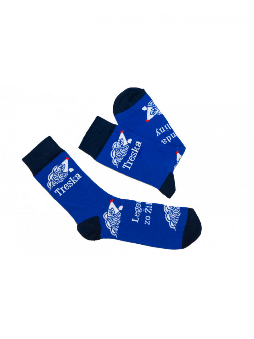 Ponožky Treska FunnySOX modré