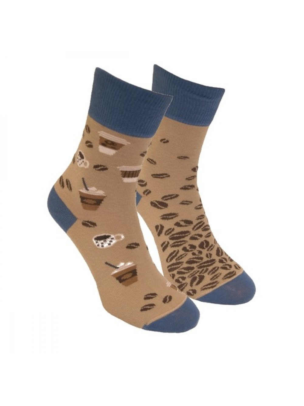 Ponožky Kavopič Foxysoxy Svetlohnedé