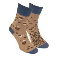 Ponožky Kavopič Svetlohnedé Foxysoxy