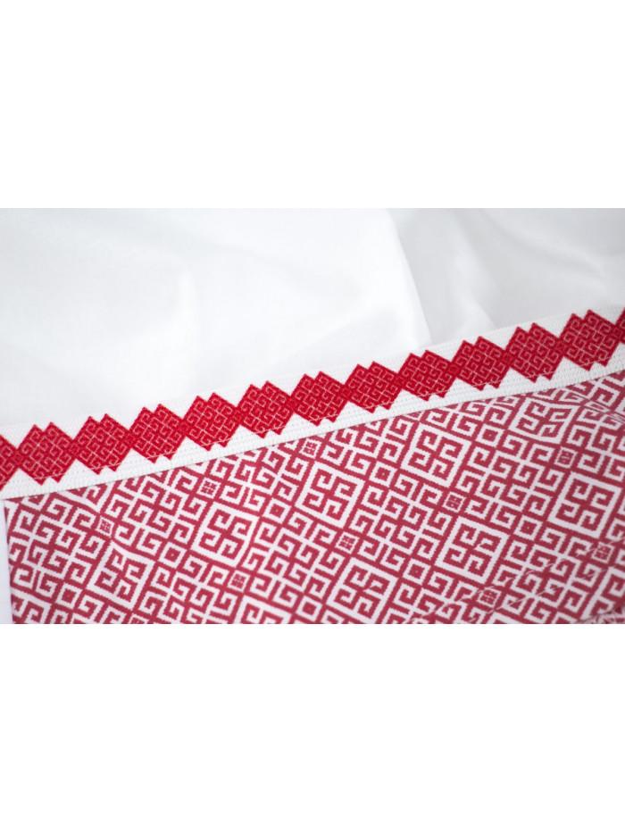 Nohavičky Crimea Maszaryk Red & White