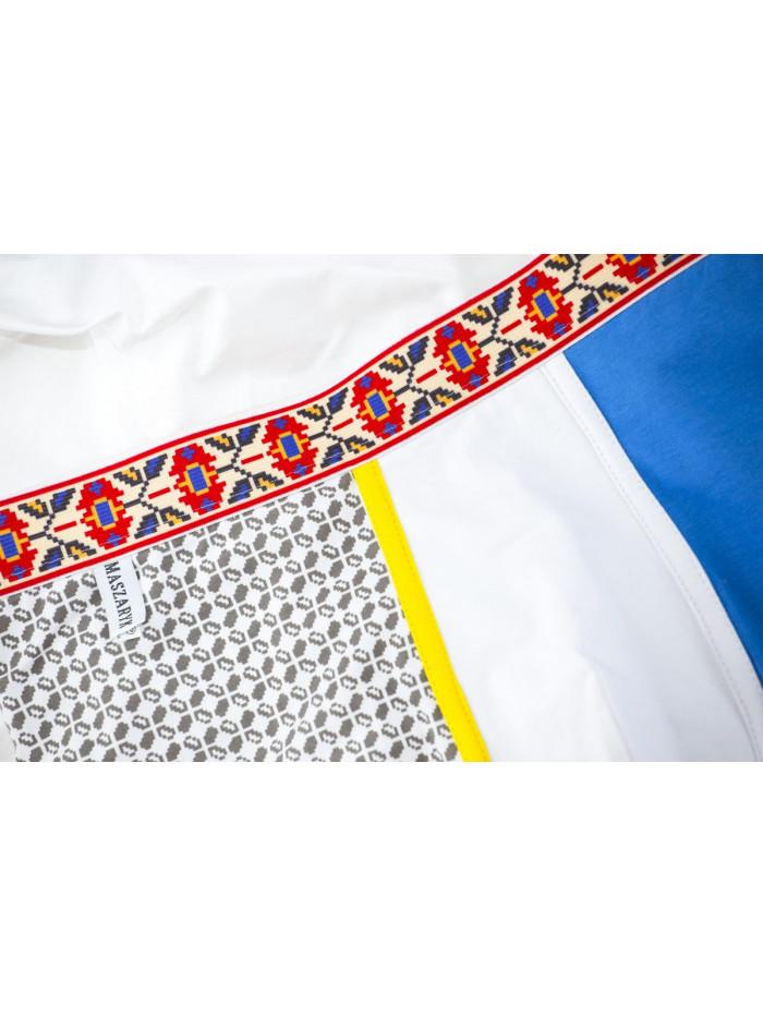 Boxerky Maszaryk Crimea Blue & Grey