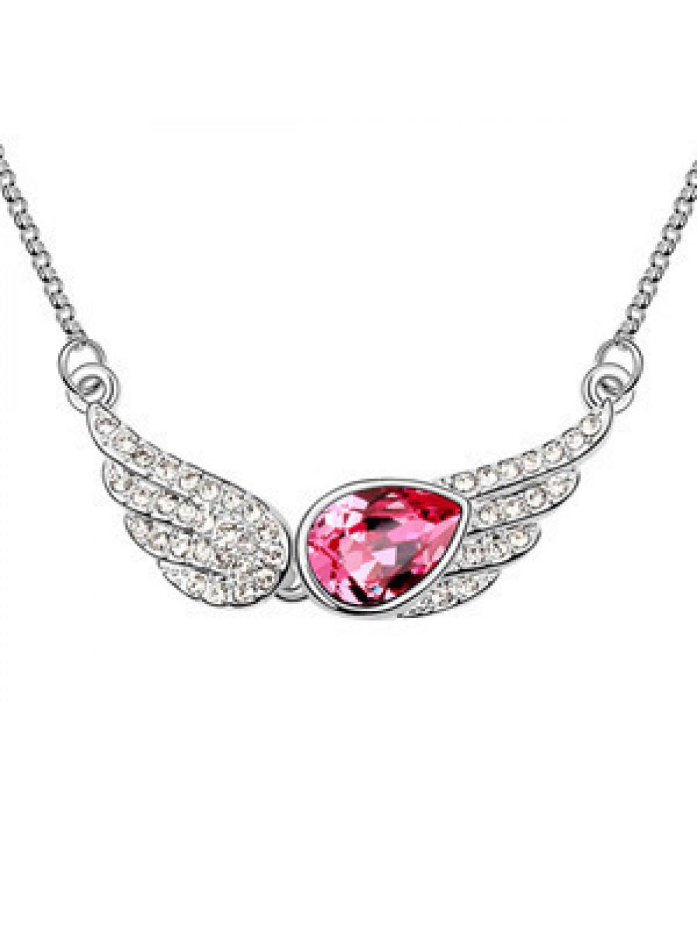 Anjelské krídla náhrdelník s príveskom