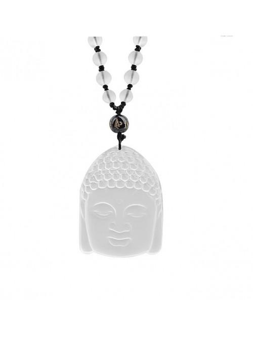 Náhrdelník Buddha Krištáľ